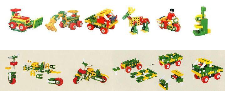 建构式玩具  特殊设计,完美组合,是幼童创意积木的首选!图片